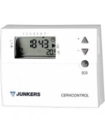 Termostato y programador digital semanal Junkers TRZ12-2