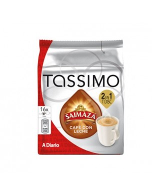 Café Tassimo Saimaza café con leche